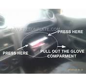Reset Fuel Cut Off Switch Inertia Emergency Shut On Ford Fiesta