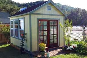 Vacation Cabin Plans Her Quot Country French Quot Garden Getaway Tuff Shed