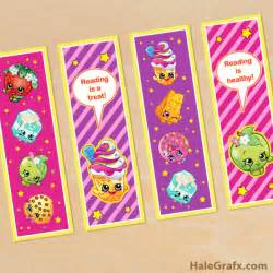 bookmarkers template free printable shopkins bookmarks