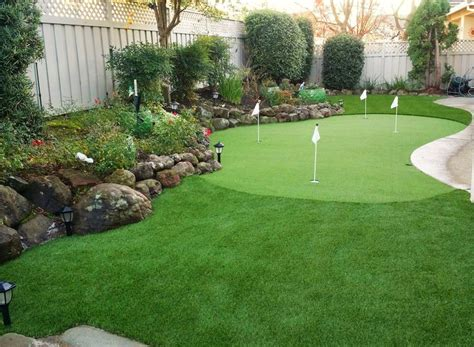 How To Build A Backyard Putting Green by Best 25 Golf Cave Ideas On Golf