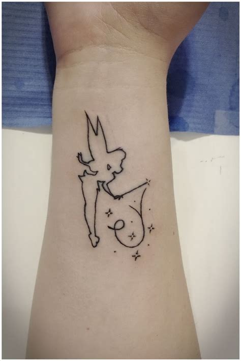 simple disney tattoos tinkerbell disney