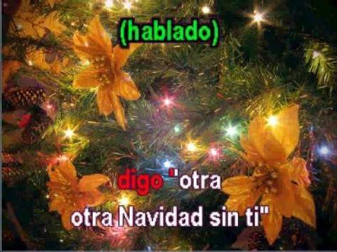 imágenes navidad sin ti los bukis navidad sin ti karaoke youtube