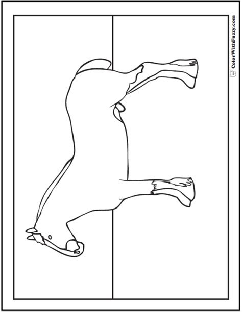 coloring pages of clydesdale horses coloring page showing galloping