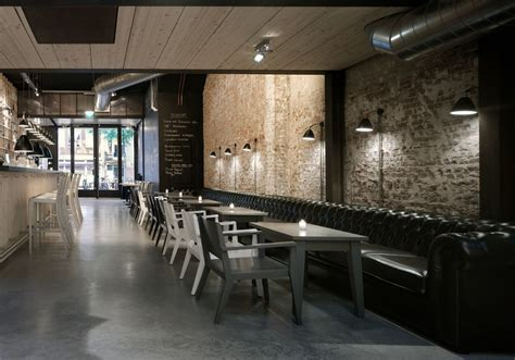 cafe interior design tips decorating luxury restaurant design with brick wall how
