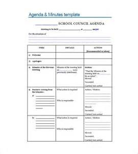 how to record meeting minutes template school meeting minutes template 8 free sle exle