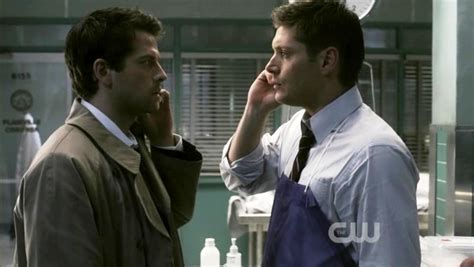 And Dean X I supernatural needs to pull the trigger on destiel or castiel