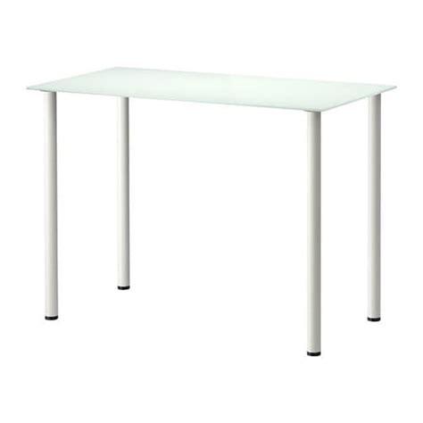 Ikea Tafelblad Rood by Glasholm Adils Tafel Glas Wit Wit Ikea