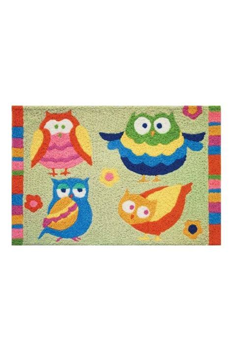 jelly bean rugs and pillows jelly bean rugs whoo owls mat from tennessee by sherry s interiors gifts shoptiques