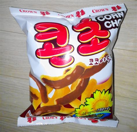 corn cho korean snack corn puffs chocolate modern seoul