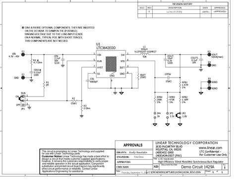 resistor circuit program solutions dc1429a ltc3642edd demo board 60v transients 4 5v vin 45v vout 1 8v 3 3v