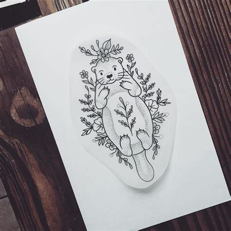 tattoo nightmares book appointment the 25 best ideas about otter tattoo on pinterest fox