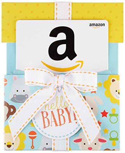Amazon Gift Card Amounts - amazon com gift card for any amount in a hello baby reveal import it all