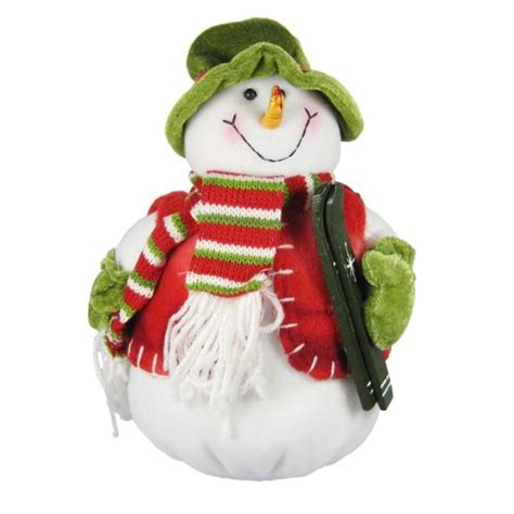 snowman stuffed bean bag christmas decoration home d 233 cor