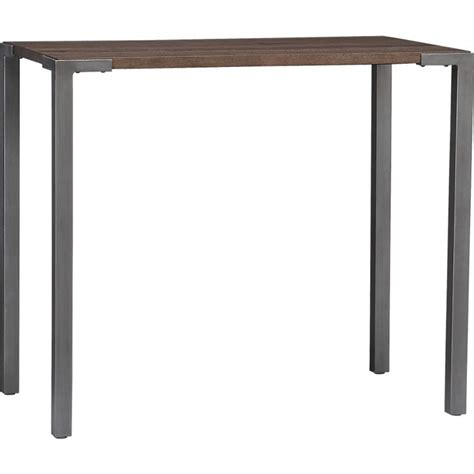 stilt 42 quot high dining table