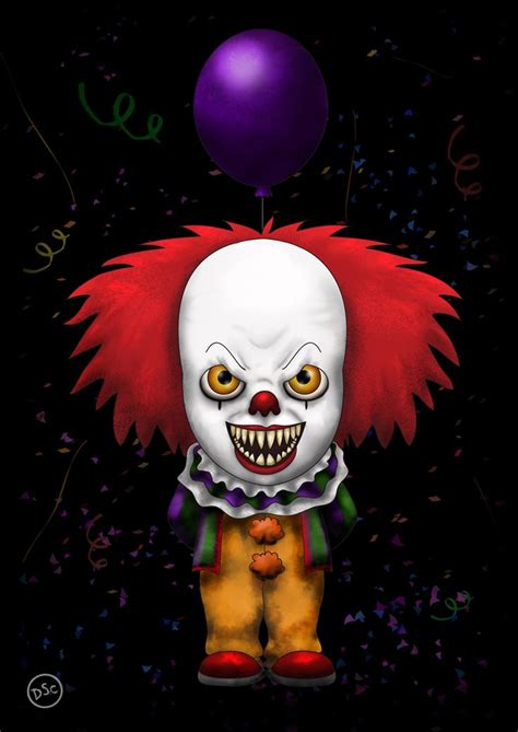 Horor It pennywise it horror series horror
