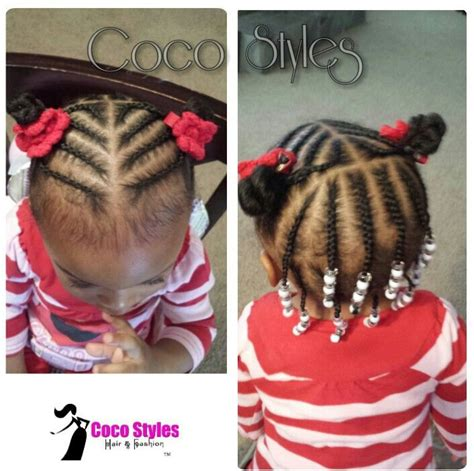 braided hairstyles toddlers braids and beads hair ideas pinterest