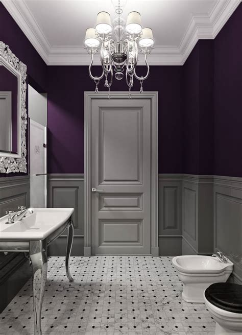 gray and purple bathroom ideas 39 kick ass bathroom decor ideas someday i ll learn