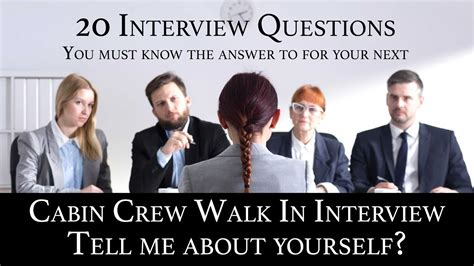 Tell Me About Yourself Cabin Crew cabin crew recruitment q a 01 tell me about