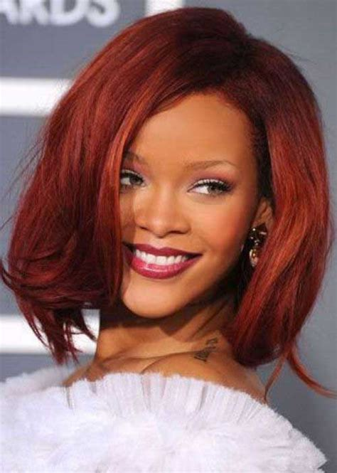 Rihanna Bob Hairstyle by 15 Rihanna Bob Haircut Bob Hairstyles 2017