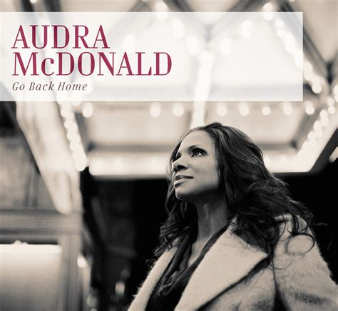 the official website of singer and audra mcdonald