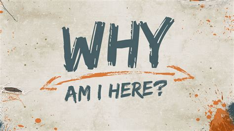 Why I by Why Am I Here Greenville Papyrus