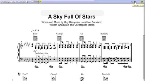download mp3 free coldplay a sky full of stars a sky full of stars by coldplay piano sheet music teaser