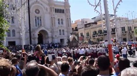 madonna della consolazione processione della madonna della consolazione settembre