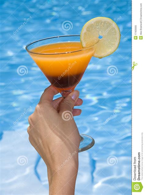 pool cocktail pool cocktail royalty free stock photo image 17425555