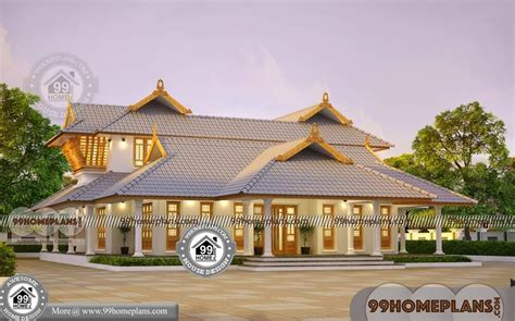 south indian bungalow designs  traditional illam model