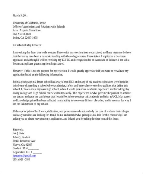 college rejection letter template 5 college rejection letters free premium templates