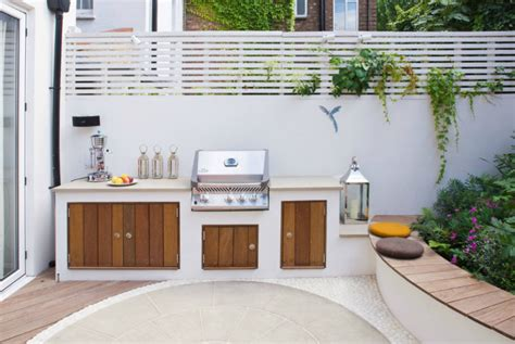 modern outdoor kitchen cooking fresh is easy in modern outdoor kitchens