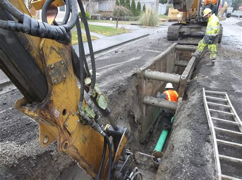 Sewer Replacement Sanitary Sewer Replacement Project Rustonwebsite