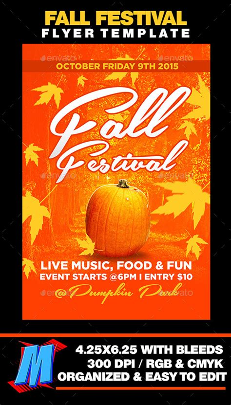 Free Printable Flyer Templates For Fall Festival 187 Fixride Com Fall Festival Flyer Template Free