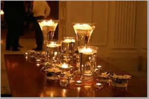 candle centerpieces for wedding reception kooklah do it yourself decorate candle votives