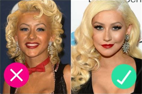 Aguilera Is An Oompa Loompa by 11 Common Makeup Placement Mistakes For Blush Eyeshadow