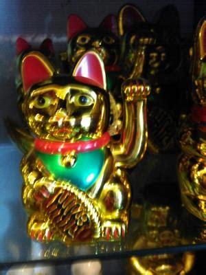 Lu Proji Untuk Fu jual patung dewa kucing emas 3 dhammamanggala