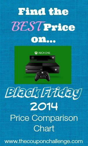 xbox one best prices 2014 xbox one price comparison chart