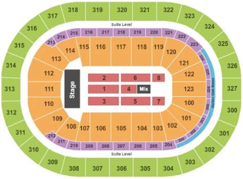 niagara center seating chart concerts niagara center tickets and niagara center