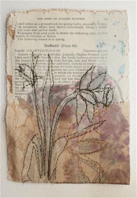 Handkerchief Vase Cas Holmes Textiles Stitch Sketch