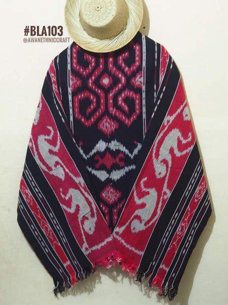 Blous Tenun Etnik Tenun Ikat Blangket Halus jual bla103 blanket etnik tenun motif sumba di lapak