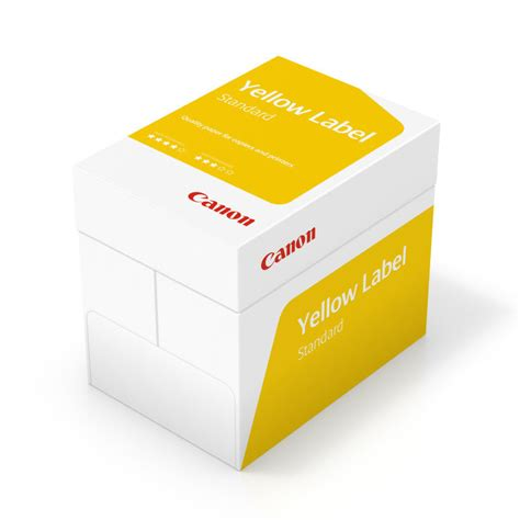 Printer A3 Paper canon yellow label a3 80gsm white printer paper 500 pages ebuyer