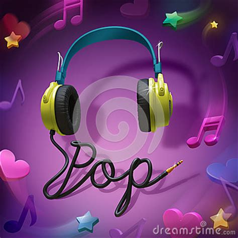 Chinese Bookcase Pop Music Headphones Royalty Free Stock Images Image