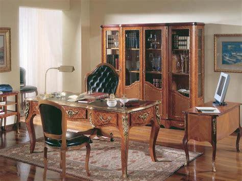 scrivanie di lusso scrivania in legno di rosa classica di lusso idfdesign