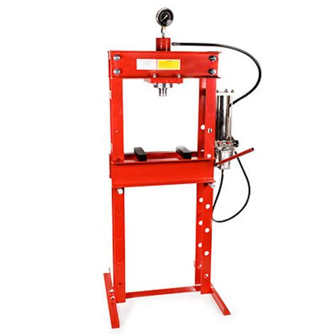 bench floor press 30 ton hydraulic pneumatic air workshop pedal floor