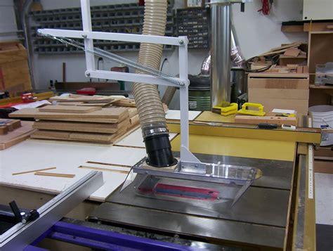 diy table saw dust collector table saw blade guard dust collection search