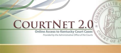 Courtnet Criminal History Record Kentucky Court Of Justice Home