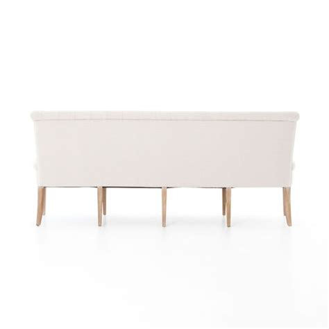 tufted banquette bench french tufted upholstered dining bench banquette zin home