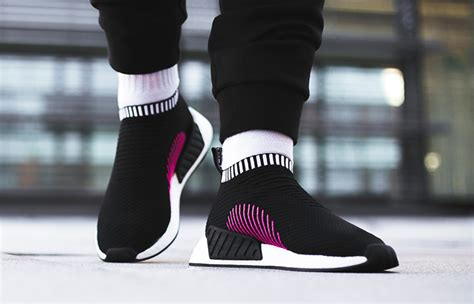 Adidas Nmd Sport For Biru Hitam Big Sale on foot images of adidas nmd cs2 black pink fastsole co uk