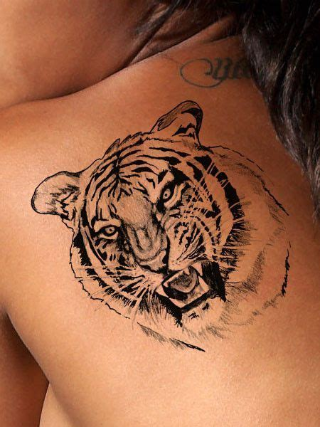 shoulder tiger tattoo designs fierce tiger awesome or and highly