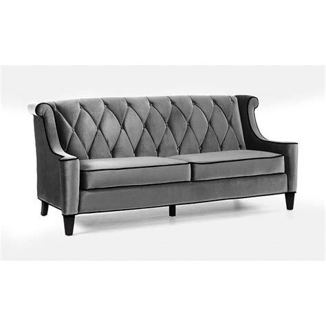 grey velvet sofas modern grey velvet sofa